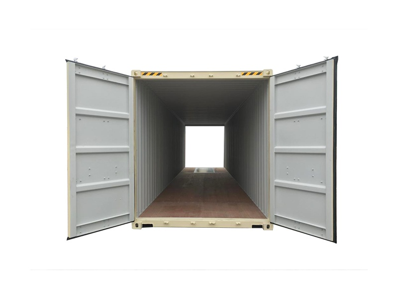 40' high-cube standard cargo container with double doors (40'HCDD)