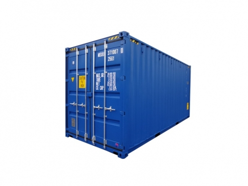 20' high-cube standard cargo container with single door (20'HC)