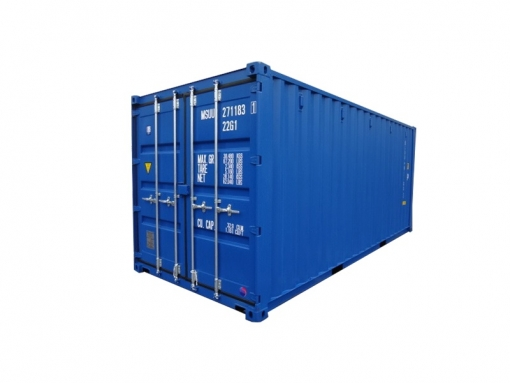 20' standard cargo container with singled end door (20'DV)