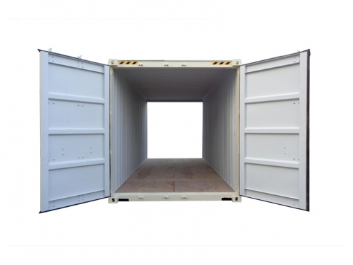 20' high-cube standard cargo container with double doors (20'HCDD)
