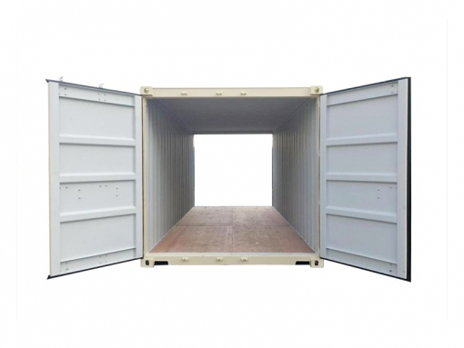 20' standard cargo container with double doors (20'DD)